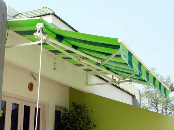 jenis canopy awning roll